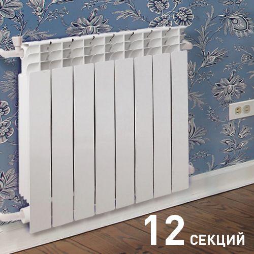 008 Радиатор биметаллический ОАЗИС 500/80/12