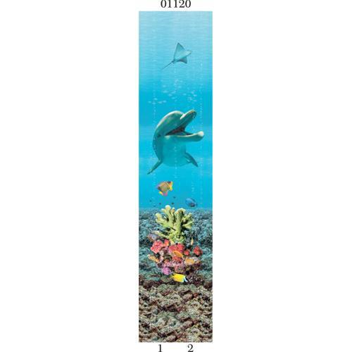 """03820 Дизайн-панели PANDA """"Подводный мир"""" Панно 2шт(8,1м2=12шт)"""