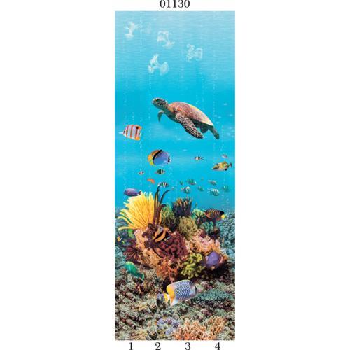 """03830 Дизайн-панели PANDA """"Подводный мир"""" Панно 4шт(8,1м2=12шт)"""