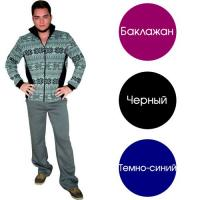 """Брюки """"Утепленные"""" черные р.46"""