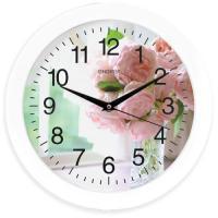 Часы настенные кварцевые ENERGY модель EC-96 цветы
