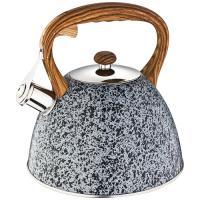 Чайник agness со свистком 3,0 л, индукцион. капсульное дно 908-049