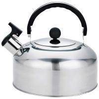 Чайник из нерж стали со свистком Casual, зерк полировка, литраж - 2 л, без тм арт.004259