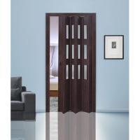 Дверь раскладывающаяся  Фаворит венге (с декоративными вставками) (840мм*2005мм)