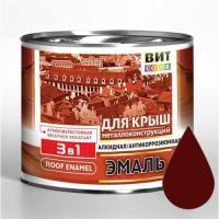 """Эмаль д/крыш  ПФ-115 (Красно-коричневая 5 кг """"ЦАРИЦЫНСКИЕ КРАСКИ"""")"""