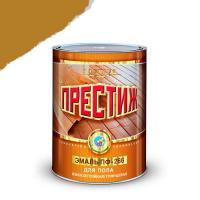 """Эмаль ПФ-266 (золотисто-коричневая 1,9 кг) """"ПРЕСТИЖ"""""""