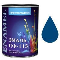 """Эмаль """"Простокрашено!"""" синяя БАУ 2,7 кг (7965)"""
