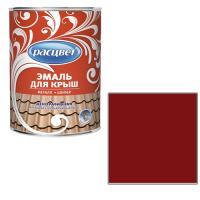 """Эмаль """"Расцвет"""" для крыш красно - коричневая 5 кг. (1515)"""