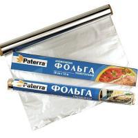 Фольга PATERRA саянская 300мм х 10м 12микрон в пленке NEW/48 (209-010)