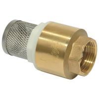 Клапан обратный  с сеткой  латунь 3/4  UTF 158Y03