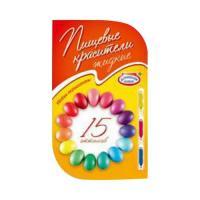 Красители для декорирования пасх.яиц 15 оттенков hk25726 (22902)