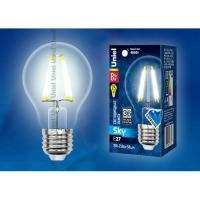 Лампа светодиодная LED-А60-8W/NW/E27/CL PLS02WH (Цвет: белый)
