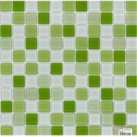 Мозаика СТ121/400 зеленая ЗЛ00(24%) ЗЛ01(22%) ЗЛ02(39%) Б00(25%) (300х300)