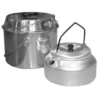 Набор походный (котелок 3л; чайник 1л) Camp-S2 арт.991009