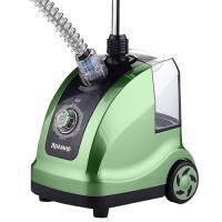 Отпариватель электрический ЯРОМИР ЯР-5000 зеленый с черным, 2000Вт., резервуар д/воды - 1,4л