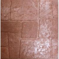 Плитка тротуарная полимерпесчаная 330*330*30(унив.крас.кор.) Морской камень (270 шт поддон)
