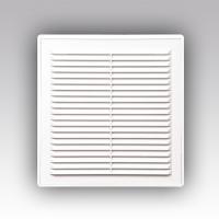Решетка вентиляционная разъемная с сеткой 200*200 РВ2020СР