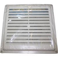 Решетка вентиляционная неразъемная с сеткой 154х154 РВ1515С