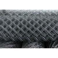 Сетка-рабица оцинкованная 35 d1,6мм (1,5*10м)