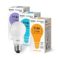 Светодиодная лампа 42 серия 42LED-A60-11W-230-4000K-E27 (38428)