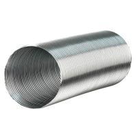 Воздуховод алюминиевый гофрированный d120 1,5 м (12ВА1,5)